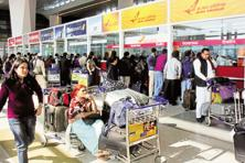 The government has asked airlines to sell only non-refundable tickets. Photo: Hindustan Times