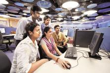 Starting off as a provider of talent, Indian IT enterprises today are increasingly partnering with enterprises in their transformation journeys. Photo: Mint
