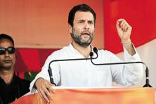 Earlier, Congress vice president Rahul Gandhi had attacked PM Narendra Modi, saying his 'foolish decision', a reference to demonetisation, has 'devastated' the country. Photo: Hindustan Times