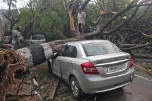 Cyclone Vardah has left a trail of destruction in Chennai akin to the devastating foods of December 2015. Photo: Reuters