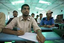 BYJU's provides learning programmes for students of Classes VI to XII and preparation programmes for competitive examinations such as JEE, CAT, IAS, GRE and GMAT.Photo: Mint