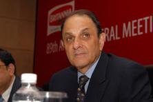 Nusli Wadia was removed as an independent director from the board of Tata Steel. Photo: Indranil Bhoumik/Mint