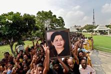 The 68-year-old Jayalalithaa, who was admitted to Apollo Hospitals in Chennai on 22 September, passed away on 5 December. Photo: PTI