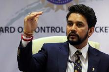 Anurag Thakur. Photo: Reuters