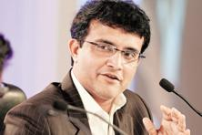 A file photo of  CAB president Saurav Ganguly. Photo: Hindustan Times