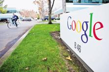 Google on Wednesday introduced two new retail partnerships, with BMW and Gap Inc., deploying its 3D-scanning project called Tango. Photo: Bloomberg