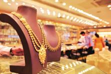 Globally, gold prices slipped from a one-month high touched in the previous session as traders cut bets. Photo: Mint