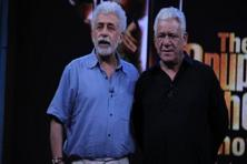 Naseeruddin Shah (left) with his friend and co-star Om Puri.