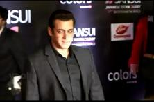 Salman Khan at Sansui Stardust Awards on Sunday evening.
