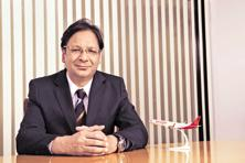 SpiceJet chairman Ajay Singh. The airline expects the Boeing Max aircraft to help save about 20% in fuel costs.