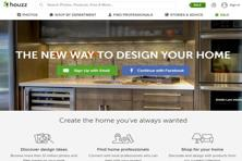 Houzz is an online scrapbook that allows designers and home service professionals display their work.