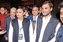 Rahul Gandhi-led Congress is poised to announce an alliance with chief minister Akhilesh Yadav-led faction of Samajwadi Party. Photo: HT