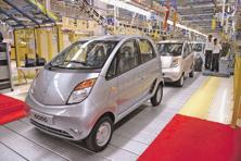In the first nine months to fiscal 2016-17, Tata Nano sales dropped by 61% to 6,714 units from 17,258 units in the year-ago period. Photo: Mint