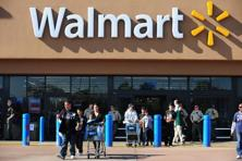 Walmart celebrated the planned addition of 10,000 retail jobs, even as it expands its store count at a slower pace. Photo: AFP