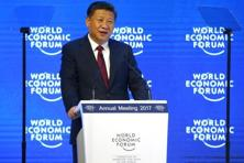 Chinese President Xi Jinping at the World Economic Forum summit in Davos, Switzerland on 17 January. Photo: Reuters