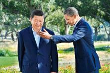 Barack Obama and Chinese President Xi Jinping met eight times. Photo: AFP