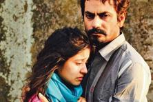 Nawazuddin Siddiqui (right) and Shweta Tripathi in a still from 'Haraamkhor'.