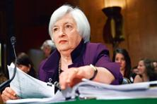 Janet Yellen's second speech this week comes just a day before the inauguration of Donald Trump as US president.  Photo: AP