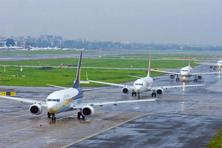 India's domestic aviation market reached nearly 100 million passengers in 2016. Photo: HT