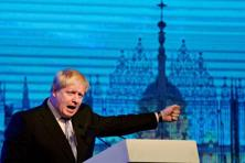 British foreign secretary Boris Johnson  came knocking on India's doors last month, talking up a free trade deal and pointing to his Sikh family (his mother-in-law is Sikh) in an oblique reference to his Indian connection. Photo: PTI