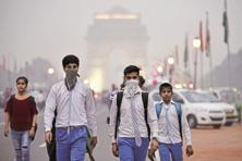 Delhi recorded an average PM 10 volume of 260 last year, over four times above the safe level, while the same was 65 in case of gaseous pollutant Nitrogen dioxide. Photo: HT