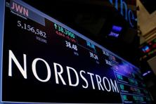 Shares of Nordstrom dipped after Wednesday's tweet was posted, though they quickly recovered. The stock steadily climbed for the rest of the trading session, reaching its highest price since 25 January. Photo: Reuters