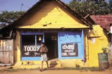 A file photo of a toddy shop in  Kerala