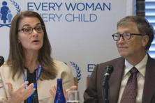 Melinda Gates and her husband Microsoft co-founder Bill Gates, co-founders of Bill & Melinda Gates Foundation. Photo: Reuters