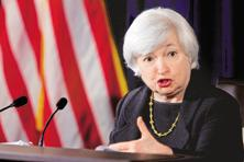 Federal Reserve Chair Janet Yellen said on Tuesday the Fed would probably need to raise interest rates at a forthcoming meeting, and that delaying rate increases could leave the central bank's policymaking committee behind the curve. Photo: Bloomberg