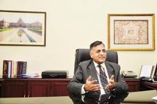 Finance secretary Ashok Lavasa. Photo: Ramesh Pathania/Mint