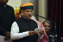 Minister of state for finance Arjun Ram Meghwal expressed concern over the high cash to GDP ratio in India in comparison to developed countries Photo: AFP