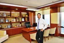 Sumant Sinha in his cabin. Photographs by Priyanka Parashar/Mint