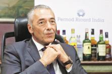 Pernod Ricard India MD and CEO Guillaume Girard-Reydet. Discretionary spending by consumers and GST implementation are other challenges for the liquor company. Photo: Reuters