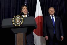 Prime Minister Shinzo Abe says a good relationship with the US was necessary to deter a rising China and unpredictable North Korea. Photo: AP/PTI