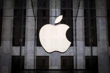 Apple, which accounts for half the company's revenue, played a pivotal role in the stock's recent buoyancy. Photo: Reuters