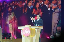 In a speech on Tuesday, Reliance Industries chairman Mukesh Ambani said Reliance Jio users had consumed more than 100 crore GB of data per month.