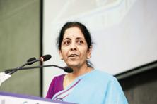 Nirmala Sitharaman as speaking on the sidelines of launch of a report by the UN. Photo: Mint