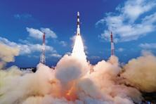 India's PSLV, the tried and tested workhorse of Isro for satellite launches, proved yet again that it can achieve more complex missions. Photo: PTI