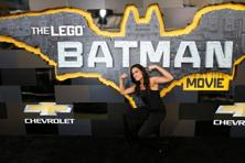 Cast member Rosario Dawson poses at the premiere of the movie The Lego Batman Movie in Los Angeles on 4 February 2017. Photo: Reuters