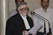 A file photo of Kerala governor P. Sathasivam. The governor's inaugural address comes at a time when the ruling Left Front government has been facing the heat following the molestation of the actress.Photo: HT