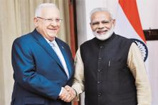 "Israeli President Reuven Rivlin had visited India in November during which both sides had decided to ""broadbase"" their already close defence partnership. Photo: PTI"