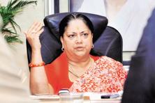 Rajasthan CM Vasundhara Raje. Photo: Reuters