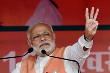 A Chinese-made hand grenade was found in Imphal before Prime Minister Narendra Modi's election rally in Manipur. Photo: PTI
