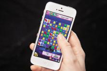 Among mobile apps, games represented over 80% of total worldwide consumer spend for combined iOS App Store and Google Play last year, while accounting for roughly 35% of total worldwide downloads, according to a new report by App Annie and IDC .Photo: Reuters