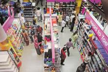 Future Retail has a multi-format network of stores, including Big Bazaar. Photo: Mint