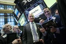 Snap Inc. shares opened at 24 dollars per share on the NYSE. Photo: AFP