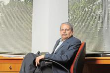 Kris Gopalakrishnan, co-founder of Infosys and Axilor Ventures. Photo: Hemant Mishra/Mint