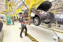 The Mahindra plant at Chakan, Pune. The debate on sub-4 metre vehicles picked up pace in the context of the rollout of goods and services tax which aims to tax cars not on their dimensions but on how luxurious they are. Photo: Abhijit Bhatlekar/Mint