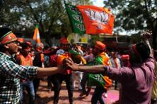 The BJP won 71 Lok Sabha seats and 312 assembly seats in Uttar Pradesh in 2014 general and 2017 assembly elections, respectively, challenging the votebank and caste politics that is prevalent in the state. Photo: AFP