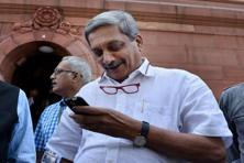 Manohar Parrikar was the chief minister of Goa before being named the defence minister. Photo: Mint